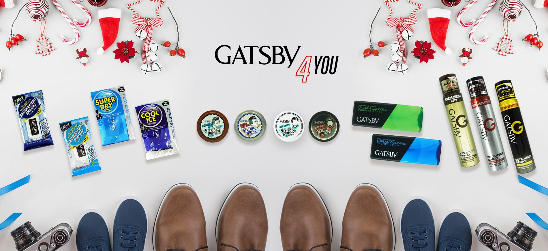 GATSBY products banner