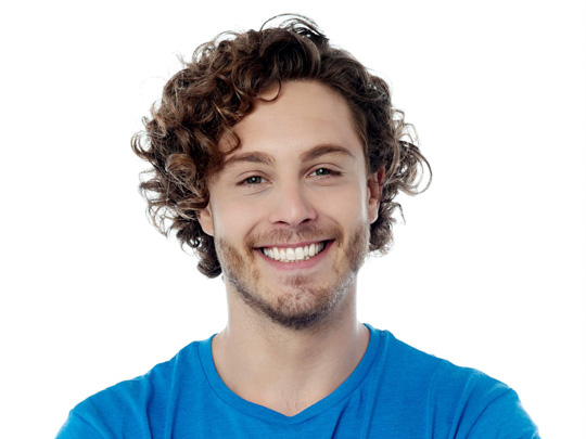 Longer Men's Hairstyle for Curly or Wavy Hair