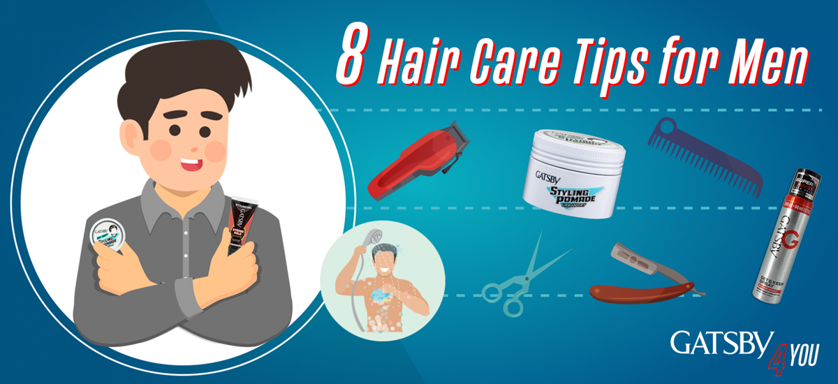 8 Hair Care Tips For Men