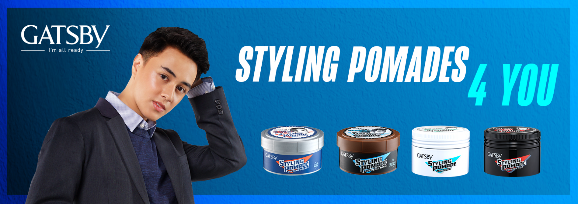 GATSBY Styling Pomades with Edward Barber