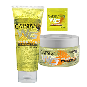 GATSBY Water Gloss Styling Gel Super Hard