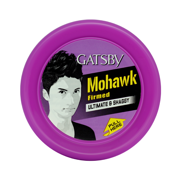 GATSBY Ultimate and Shaggy hair wax for Mohawk