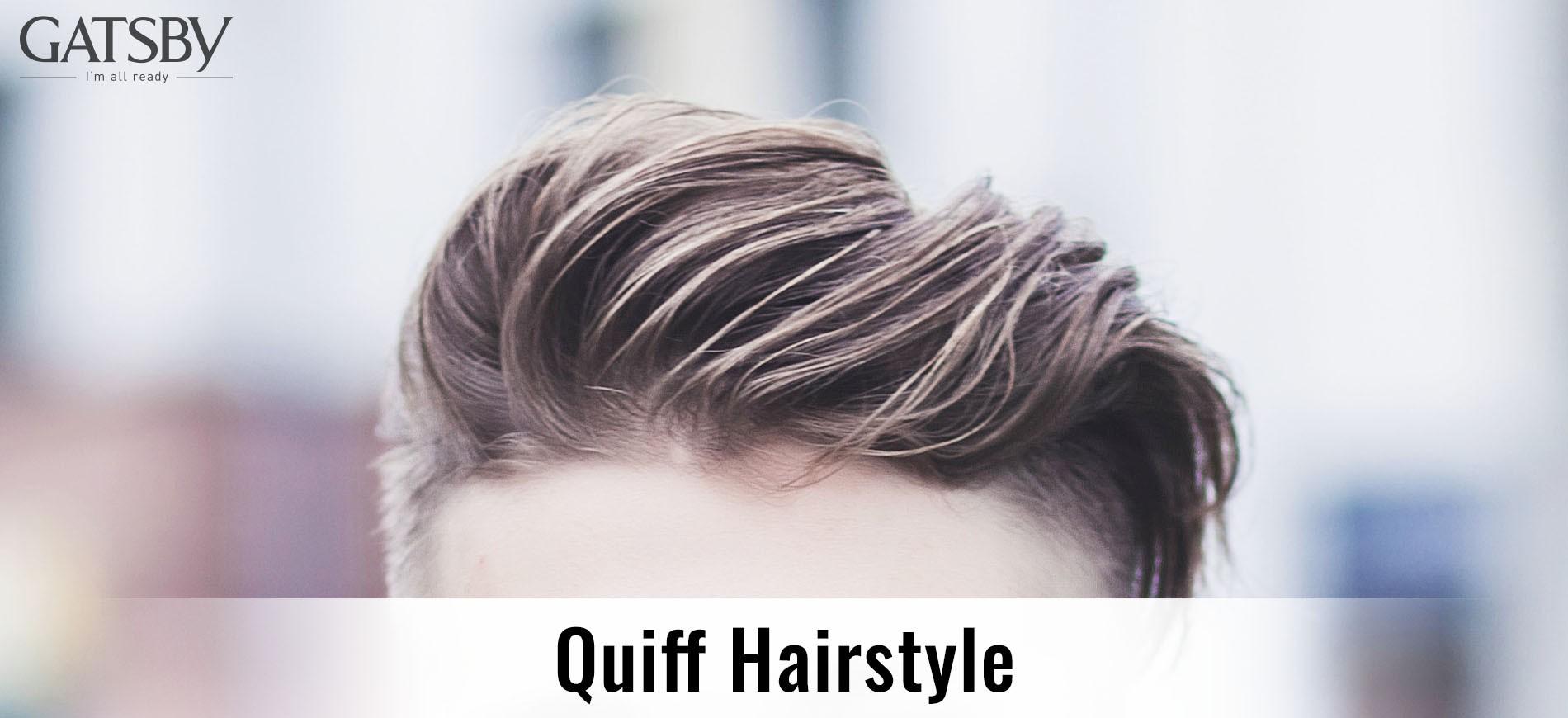 GATSBY Quiff Hairstyle Banner